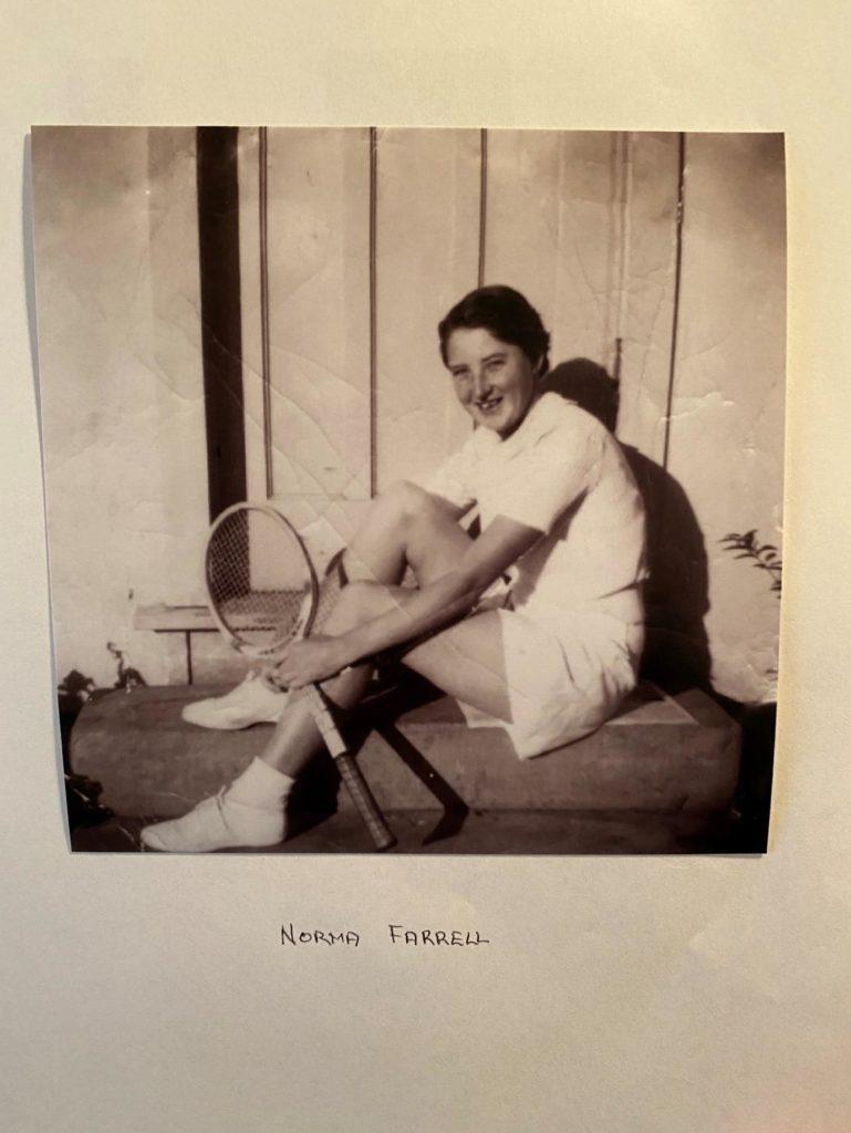 Norma Farrell MIA Open 1958 Winner